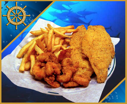 Fisher Fish and Chickent Restaurant Columbus Ohio offers many combination dinners