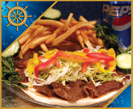 Fisher Fish and Chickent Restaurant Columbus Ohio offers many gyro sandwiches