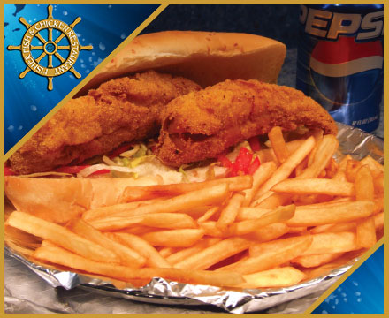 Fisher Fish and Chickent Restaurant Columbus Ohio offers many different fish sandwiches